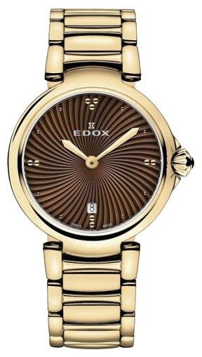 Женские часы Edox 57002-37RMBRIR Мужские часы Adriatica A1277.1211Q