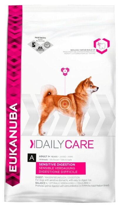 Корм для собак Eukanuba Daily Care курица 12.5 кг