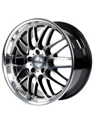 Колесный диск (литой) Dotz Mugello 8.0x18/5x112.00 D70.10 ET35 Black Polished - фото 1