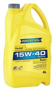 Моторное масло Ravenol Formel Super SAE 15W-40 4 л