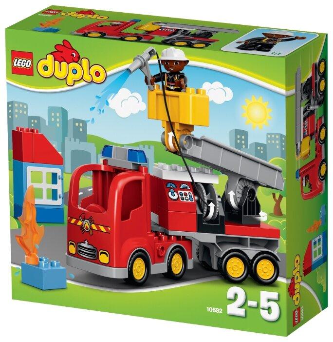 Классический конструктор LEGO Duplo 10592 Пожарная машина