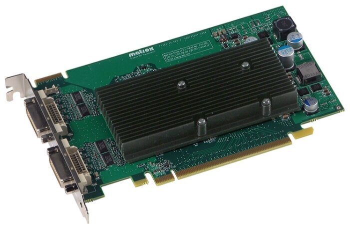 Matrox Видеокарта Matrox M9125 PCI-E 512Mb 64 bit 2xDVI