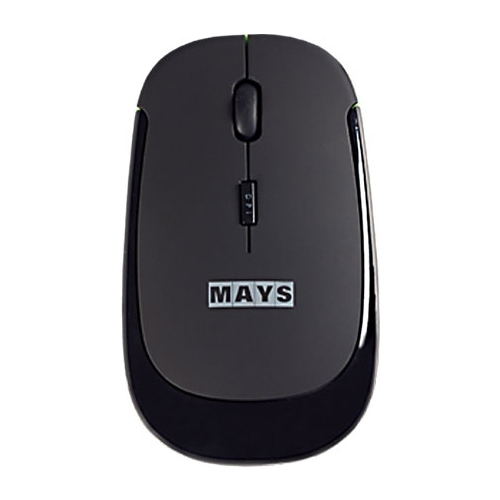 Мышь MAYS WMN-210g Black-Green USB