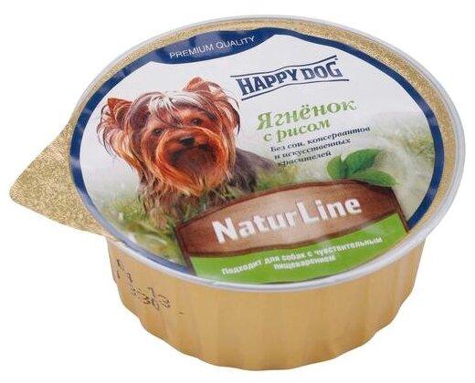 Корм для собак Happy Dog NaturLine Нежный паштет. Ягненок с рисом