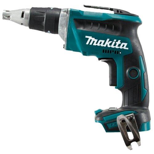 Аккумуляторный шуруповерт Makita DFS452Z синий/черный аккумуляторный шуруповерт makita dfs451rfe синий черный