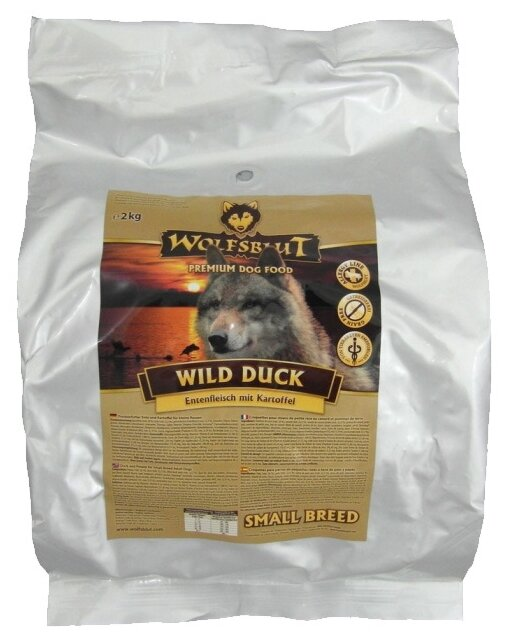 Корм для собак Wolfsblut Wild Duck Small Breed