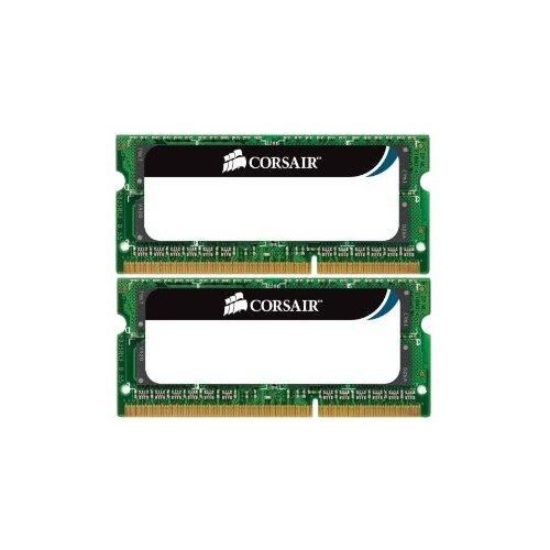 Купить Оперативная память Corsair DDR3 1333 (PC 10600) SODIMM 204 pin, 4 ГБ 2 шт. 1.5 В, CL 9, CMSO8GX3M2A1333C9