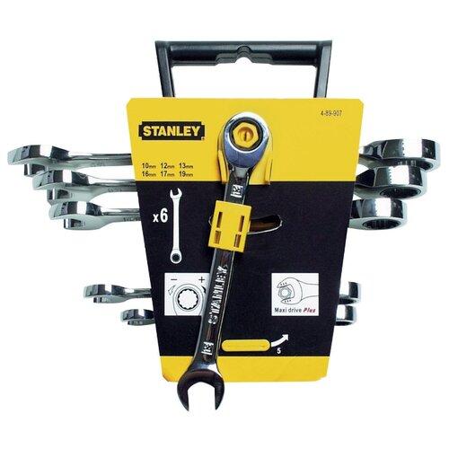 Набор гаечных ключей STANLEY (6 предм.) 4-89-907 серебристый набор гаечных ключей skrab 6 предм 44046 серебристый