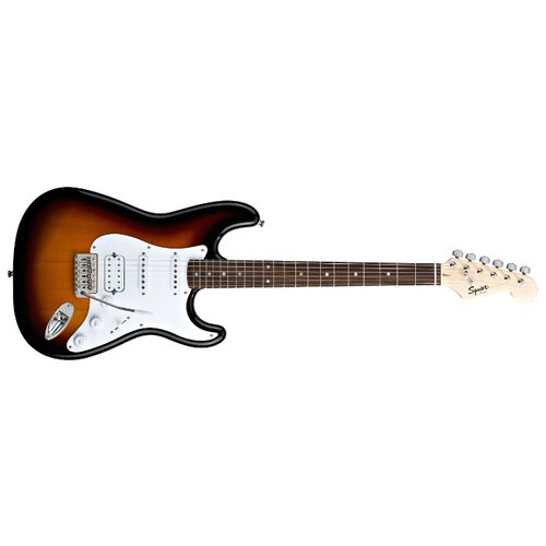 Электрогитара Squier Bullet Stratocaster HSS with Tremolo brown sunburst