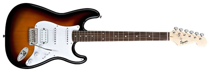 FENDER SQUIER BULLET TREM BSB электрогитара, цвет санберст
