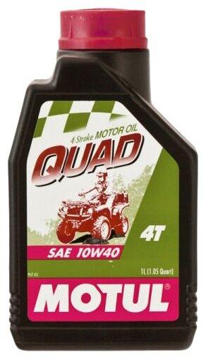 Моторное масло Motul Quad 4T 10W40 1 л