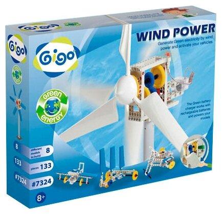 Электромеханический конструктор Gigo Green Energy 7324 Сила ветра