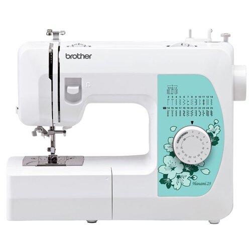 Фото - Швейная машина Brother Hanami 25 швейная машинка brother hanami 27s