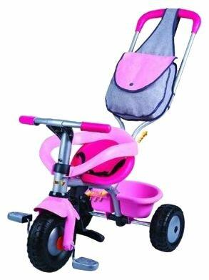 Трехколесный велосипед Smoby 444141 Be Fun Confort Girl