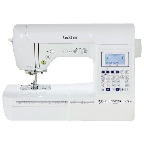 Швейная машина Brother INNOV-'IS F410, белый вышивальная машина brother innov is v3 se белый