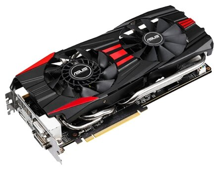 ASUS Видеокарта ASUS GeForce GTX 780 889Mhz PCI-E 3.0 3072Mb 6008Mhz 384 bit 2xDVI HDMI HDCP