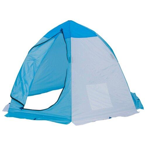 Палатка СТЭК Классика 2 белый/голубой