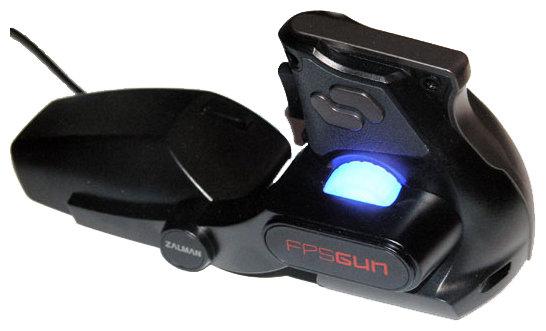 Мышь Zalman FPSGUN FG1000 Black USB