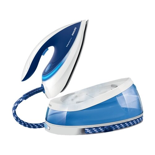 Парогенератор Philips GC7619 PerfectCare Pure синий/белый