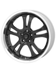 American Racing 8,5x20/5x114,3 ET35 D72,62 AR393 Black/Machined - фото 1