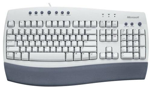 Клавиатура Microsoft Internet Keyboard White PS/2