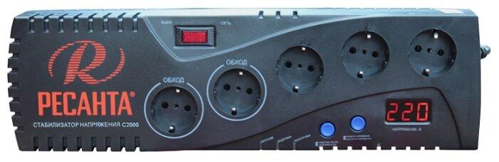 Стабилизатор напряжения однофазный РЕСАНТА С2000 (1.95 кВт)