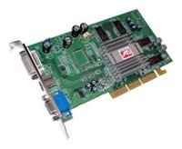 Sapphire Radeon 9200 250Mhz AGP 128Mb 400Mhz 128 bit DVI TV
