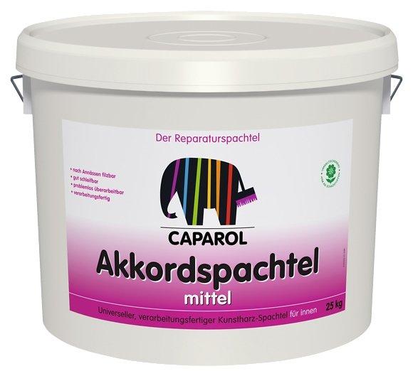 Шпатлевка Caparol Akkordspachtel mittel