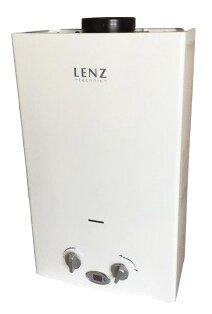 Газовый проточный водонагреватель lenz technic 10l white