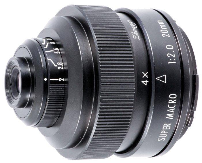 Объектив Mitakon Creator 20mm f/2 4.5X Super Macro Minolta A