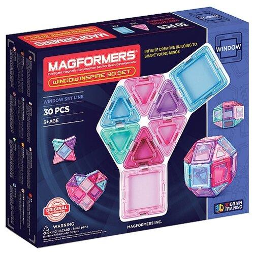 Купить Магнитный конструктор Magformers Window Inspire 714004-30, Конструкторы