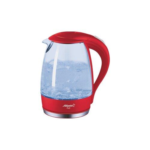 Чайник Atlanta ATH-2461, красный чайник atlanta ath 2461 красный