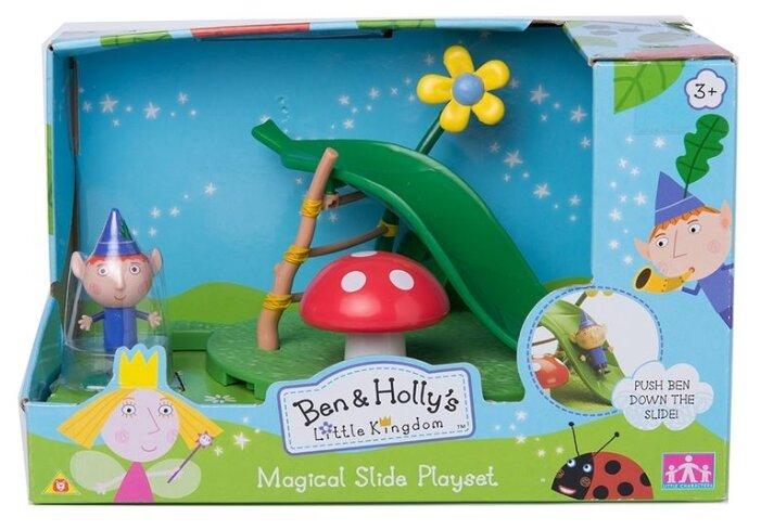 Игровой набор Intertoy Ben & Holly's Little Kingdom Горка с фигуркой Бена 30974