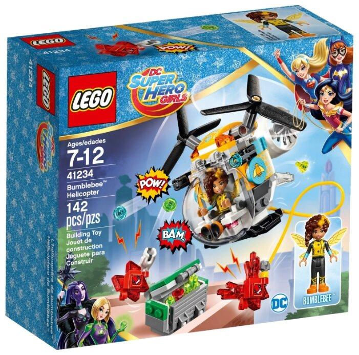 Классический конструктор LEGO DC Super Hero Girls 41234 Вертолет Бамблби