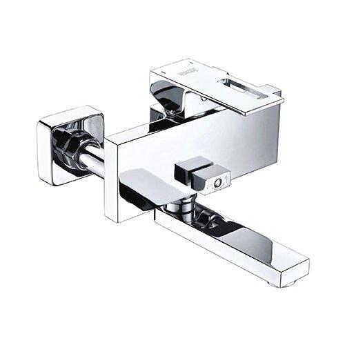 Фото - Смеситель для ванны с подключением душа WasserKRAFT Alme 1501 однорычажный смеситель для ванны с подключением душа wasserkraft alme 1541 однорычажный встраиваемый