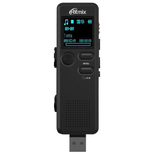 Диктофон Ritmix RR-610 4Gb черный