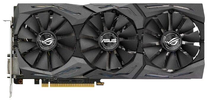 ASUS Видеокарта ASUS GeForce GTX 1080 1670Mhz PCI-E 3.0 8192Mb 10010Mhz 256 bit DVI 2xHDMI HDCP