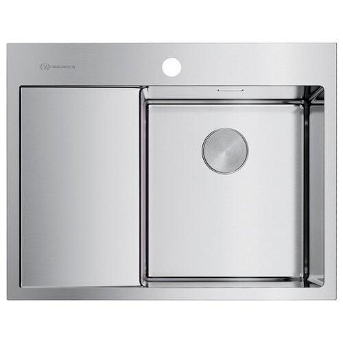Врезная кухонная мойка 65 см OMOIKIRI Akisame 65-IN-R нержавеющая сталь врезная кухонная мойка 86 см omoikiri akisame 86 in l нержавеющая сталь