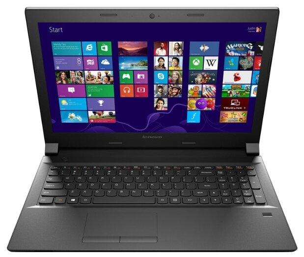 "Ноутбук Lenovo B50 70 Core i3 4005U 1700 Mhz/15.6""/1366x768/4.0Gb/500Gb/DVD-RW/Intel HD Graphics 4400/Wi-Fi/Bluetooth/DOS"