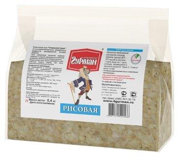 Корм для собак Четвероногий Гурман Рисовая каша моментального приготовления 400г