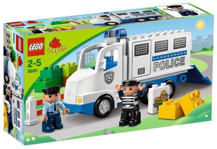 Классический конструктор LEGO Duplo 5680 Полицейский грузовик