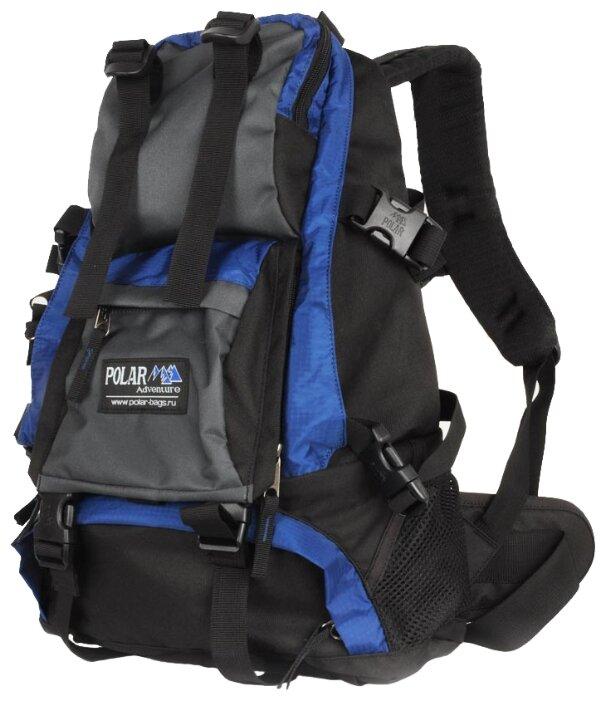 Рюкзак Polar П956-04 синий двойное дно Синий 16 л