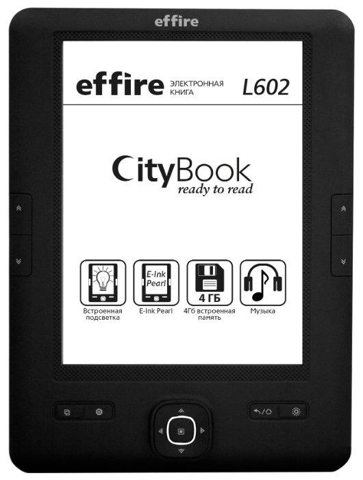 effire Электронная книга effire CityBook L602