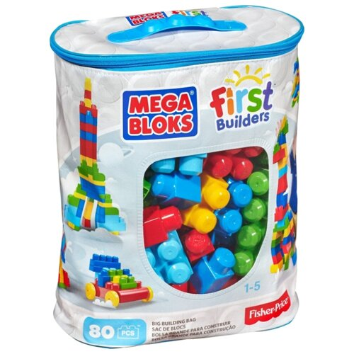 Конструктор Mega Bloks First Builders CYP72 80 деталей
