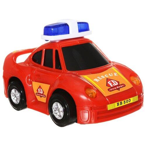 Купить Легковой автомобиль Dickie Toys Служба спасения (3341008-1) 12 см красный, Машинки и техника