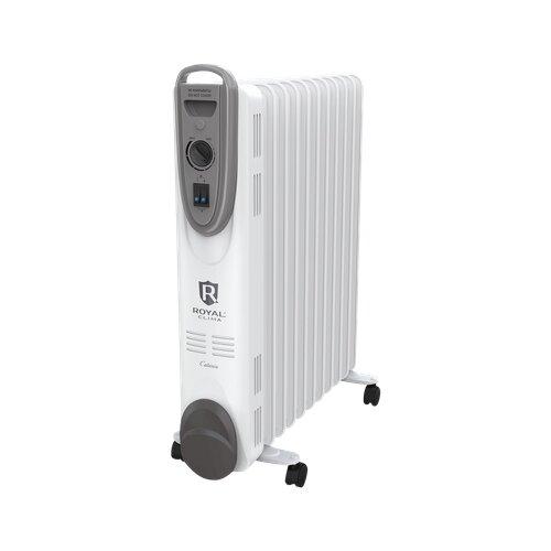 Фото - Масляный радиатор Royal Clima ROR-C11-2200M Catania белый/серый обогреватель royal clima bergamo ror b5 1000m