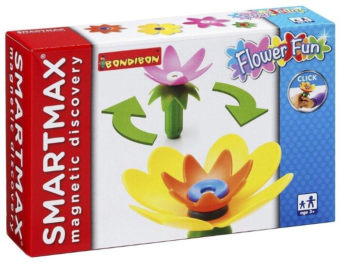 Магнитный конструктор BONDIBON Цветы ВВ0899 Забавные цветы