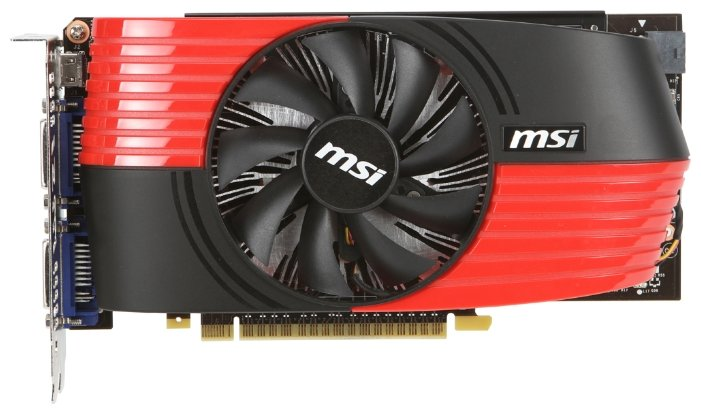 MSI GeForce GTX 550 Ti 900Mhz PCI-E 2.0 1024Mb 4100Mhz 192 bit 2xDVI Mini-HDMI HDCP