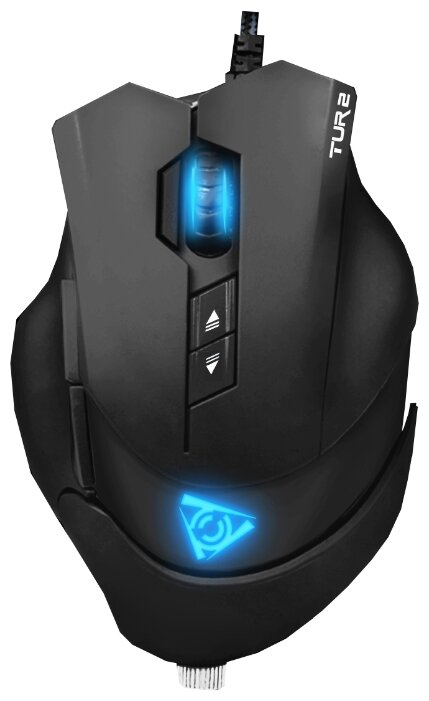 Мышь Qcyber Tur 2 GM-104 Black USB