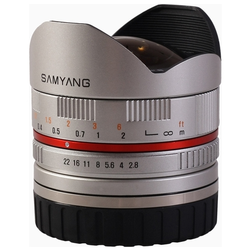 Объектив Samyang 8mm f/2.8 UMC Fish-eye Sony E Объективы